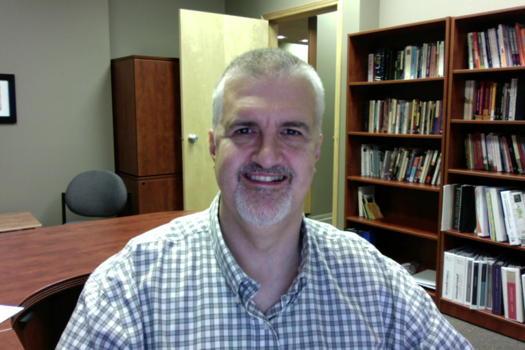 Daniel Beutler serves as the lifelong learning host with CCMBC's Resourcing Churches and Developing Leaders department. (Photo provided by Daniel Beutler)