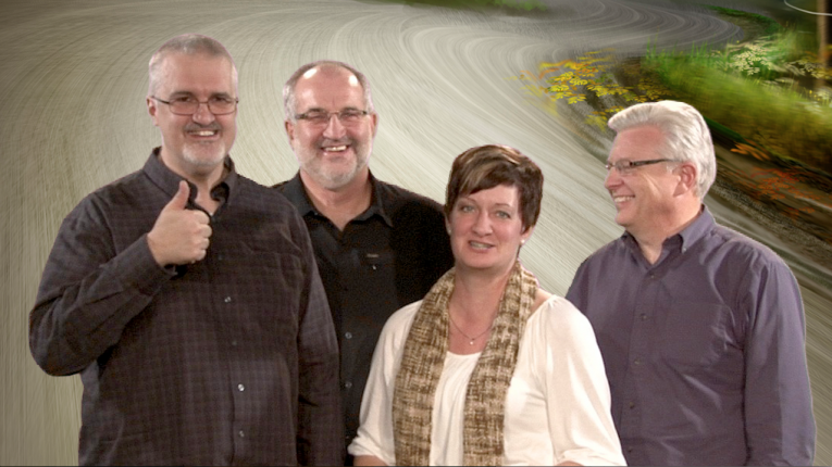 The Resourcing Churches &  Developing Leaders team. From left: Daniel Beutler, Ron Toews, Teresa Born, Dave Jackson.