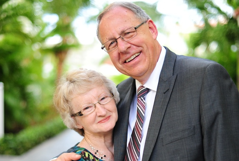 Ralph and Grace Gliege have many memories of God's faithfulness and reasons to rejoice in God's goodness resulting from their years of ministry. (Photo submitted by Ralph Gliege)