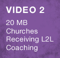 20 MB Churches Receiving L2L Coaching